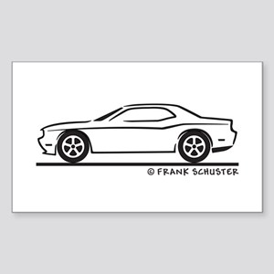 New Dodge Challenger Sticker (Rectangle)