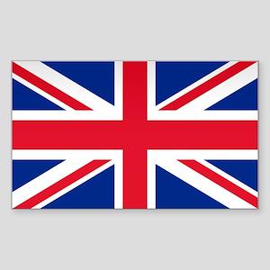 Britain Flag Rectangle Sticker