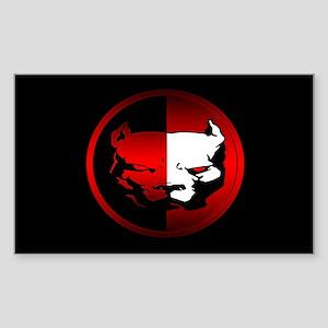 American Pit Bull Oval Sticker