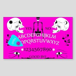 pink ouija Sticker