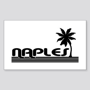 Naples, Florida Rectangle Sticker