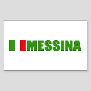 Messina, Italy Rectangle Sticker