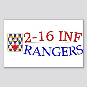2nd Bn 16th Infantry Sticker (Rectangle)