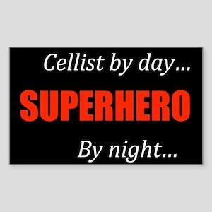 Cellist Gift Rectangle Sticker