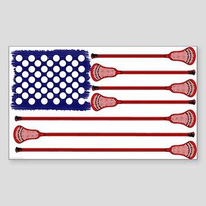 Lacrosse Americas Game Sticker