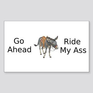Ride My ASS 2 Sticker