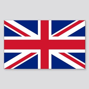 UK Flag Sticker (Rectangle)
