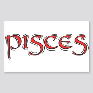 Pisces Sticker (Rectangle)