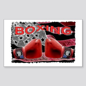 boxing Sticker (Rectangle)