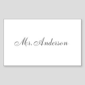Half of Mr and Mrs set - Mr Sticker