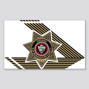 Sheriff San Bernardino Rectangle Sticker