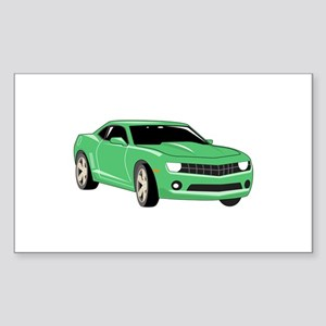 Large Sports Car Sticker