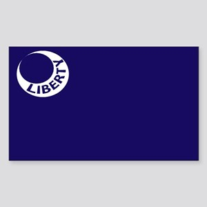 Fort Moultrie Liberty Flag Sticker