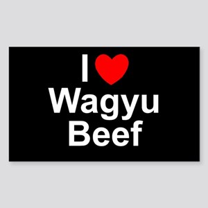 Wagyu Beef Sticker (Rectangle)