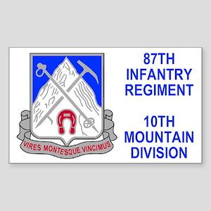 87th Infantry Regiment <BR>Sticker 1