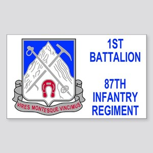 87th Infantry Regiment <BR>Sticker 2