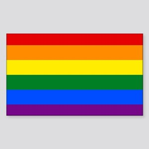 Gay Pride Sticker (Rectangle)