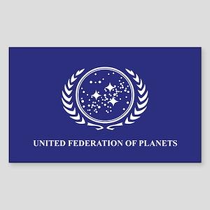 Federation Flag Sticker