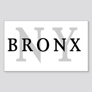 Bronx New York Rectangle Sticker