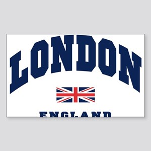 London England Union Jack Sticker