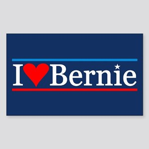 I Heart Bernie Sticker (rectangle)