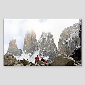 Torres del Paine National Park, Chile, Sou Sticker