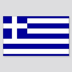 GREECE Rectangle Sticker