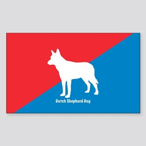 Shepherd Rectangle Sticker