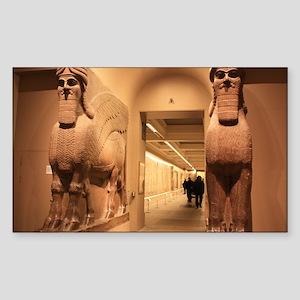 British Museum, London Rectangle Sticker