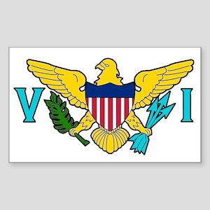 Virgin Island Sticker (Rectangle)
