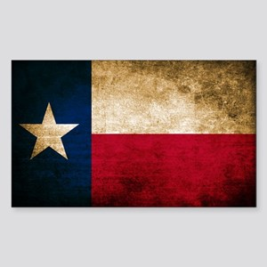 Vintage Flag of Texas Sticker
