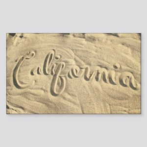 CALIFORNIA SAND Sticker