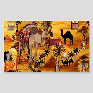 Best Seller Camel Sticker (Rectangle)
