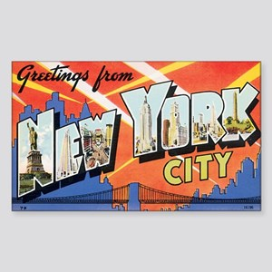 New York Sticker (Rectangle)