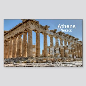 Athens Sticker (Rectangle)