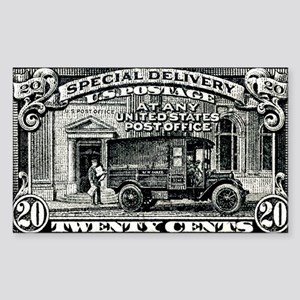 1925 United States Special Del Sticker (Rectangle)