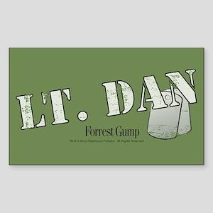 Lt. Dan Sticker (Rectangle)
