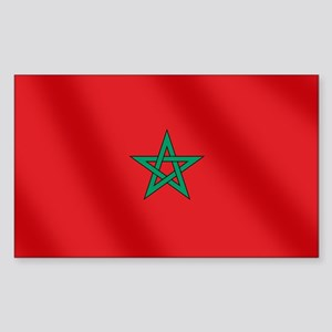 Flag of Morocco Sticker (Rectangle)
