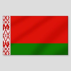 Flag of Belarus Sticker (Rectangle)