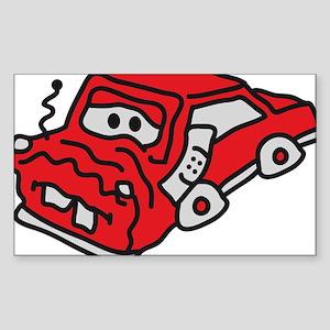 auto_accident Sticker