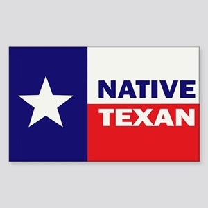 Native Texan Sticker