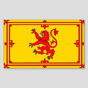 Scottish Royal Flag Sticker