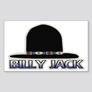 BillyJackHatLogo_scratch1 Sticker