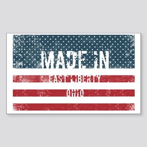 Made in East Liberty, Ohio Sticker