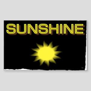 sunshine Sticker (Rectangle)