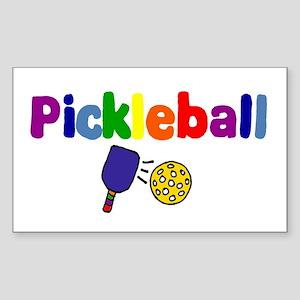 Pickleball Art Sticker