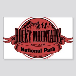 rocky mountains 2 Sticker