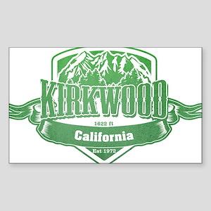 Kirkwood California Ski Resort 3 Sticker