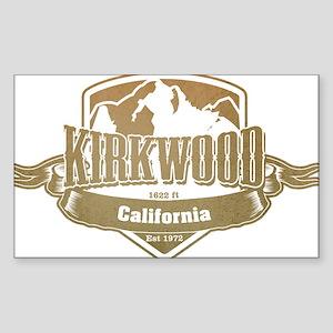 Kirkwood California Ski Resort 4 Sticker