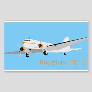 DC 3 Douglas Sticker
